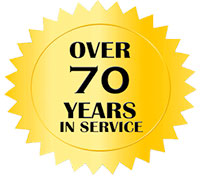 Over 70 years in service
