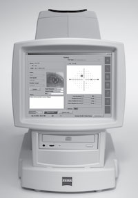 Humphrey Threshold Visual Field Analyzer